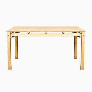 Table Militaire par Gerrit Thomas Rietveld, 1980s