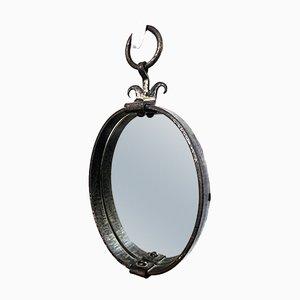 Specchio vintage in ferro battuto