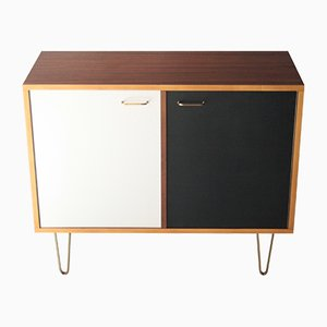 Sideboard with Brass by Alfred Hendricks for Belform, 1960s