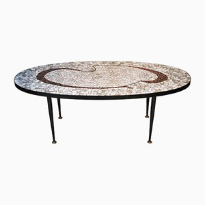Italian Vitrified Tesserae Coffee Table, 1960s
