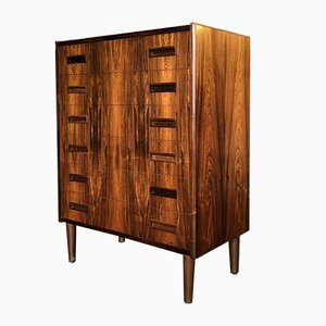 Rosewood Chest of Drawers from P. Westergaard Mobelfabrik, 1960s
