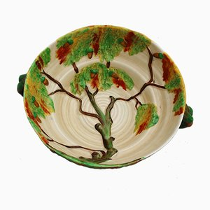 British Oak Tree Bowl by Carlton Ware for Carlton Ware Pottery, 1930s