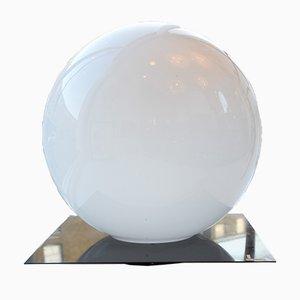 Lámpara de mesa vintage esférica grande