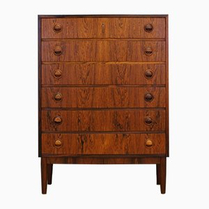 Vintage Rosewood Chest of Drawers by Kai Kristiansen, 1960s