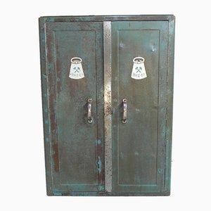 Mid-Century Industrial Steel Tool Cabinet