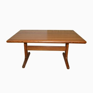 Solid Teak Coffee Table from Glostrup, 1960s