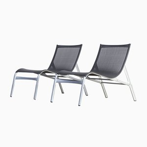 Italian Lounge Chairs by Alberto Meda for Alias, 1990s, Set of 2