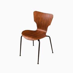 Stuhl aus Schichtholz von Middelfart, 1950er