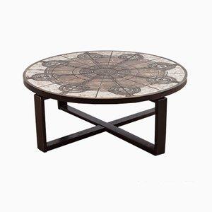 Dänische Tile Tisch von Ox Art, 1976