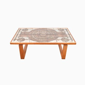 Tile Coffee Table by Ox Art, 1970s