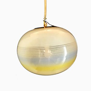 Suspension Globe en Verre Murano de Gino Vistosi, 1970s