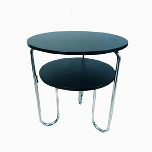 German Tubular Steel Table, 1930s