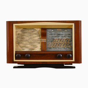 Vintage Lemouzy 619 Radio Bluetooth Speaker from Charlestine, 1948