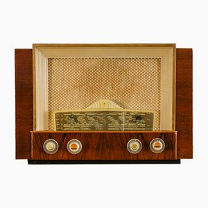 Radio Philips BF406A Capella Bluetooth vintage de Charlestine, 1950