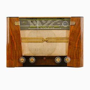 Radio Philips BF501A vintage con altavoz Bluetooth de Charlestine, 1950