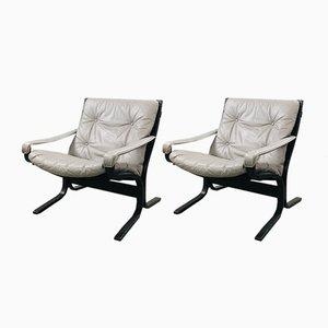 Siesta Sessel von Ingmar Relling für Westnofa, 2er Set