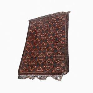 Handgearbeiteter Teppich aus Wolle, 1950er