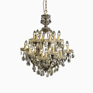 Antique Bronze Maria Theresa Chandelier