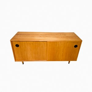 Sideboard aus Eschenholz von Erich Stratmann für Idee Möbel, 1950er