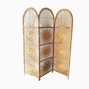 Wicker Room Divider, 1970s