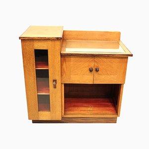 Vintage Hague Style Tea Cabinet by Piet Izeren for De Genneper Molen