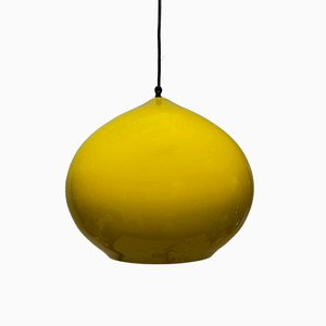 Large Mid-Century Glass Pendant by Alessandro Pianon for Vistosi