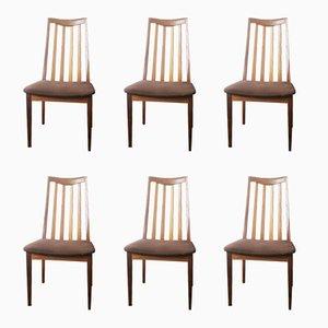 Esszimmerstühle von G-Plan, 1970er, 6er Set