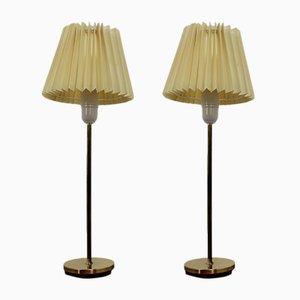 Lámpara de mesa o de escritorio Mid-Century de Falkenbergs Belysnings, años 70. Juego de 2