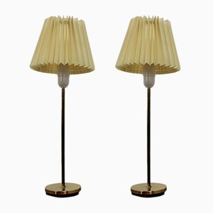 Mid-Century Table or Desk Lamps from Falkenbergs Belysnings, 1970s, Set of 2