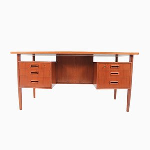 Mid-Century Desk with Bookcase by Arne Vodder, 1960s