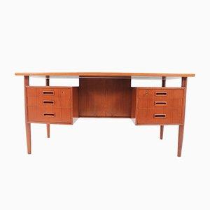 Mid-Century Schreibtisch mit Bücherregal von Arne Vodder, 1960er