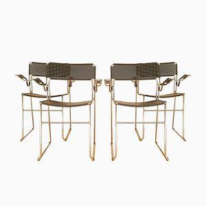 Sedie Bauhaus, anni '50, set di 4