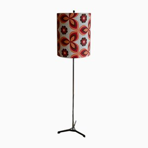French Colourful Floor Lamp, 1960s