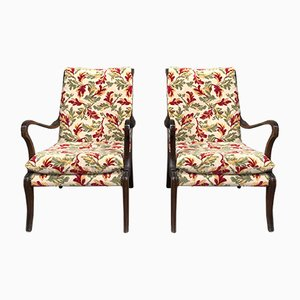 Vintage Armchairs by Ezio Longhi, 1950s, set of 2