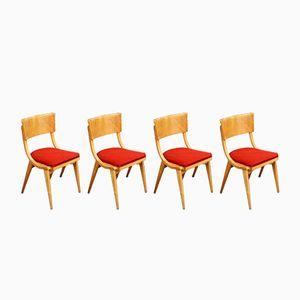 Rockabilly Stühle, 1950er, 4er Set