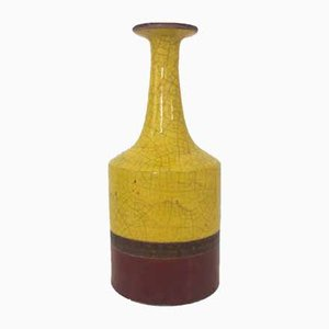 Glazed Ceramic Vase by Guido Gambone, 1950s
