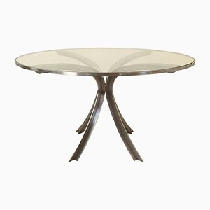 Tavolo rotondo di Xavier Féal, Francia, anni '70