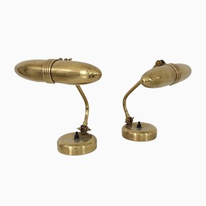 Lámparas de mesa modelo 71022 de Mauri Almari para Idman, años 50. Juego de 2