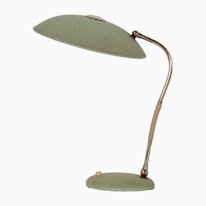 Vintage Schreibtischlampe aus Messing