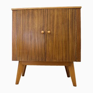 Mid-Century Walnut Cabinet Cupboard from Morris of Glasgow