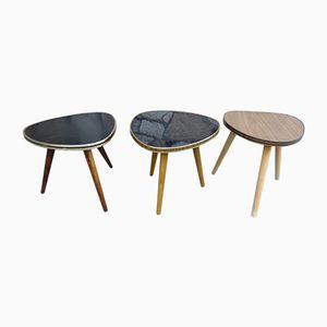 Vintage Coffee Table, 1960s, Set of 3