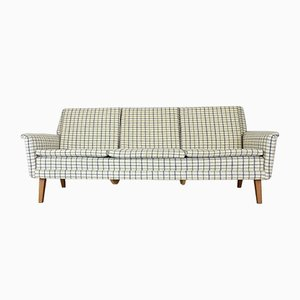 Sofá de tres plazas danés Mid-Century de Folke Ohlsson para Fritz Hansen, años 60