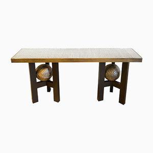 Table Console par Ado Chale pour Étienne Allemeersch, 1970s