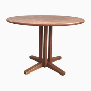 Tavolo da pranzo in teak di Ilmari Tapiovaara per La Permanente Cantù, anni '60