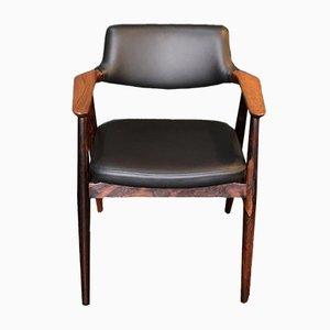 Chaise de Bureau en Palissandre de Svend Aage Eriksen, Danemark, 1960s