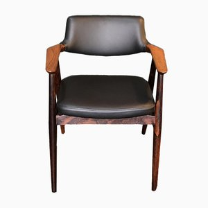 Danish Rosewood Desk Chair from Svend Aage Eriksen, 1960s