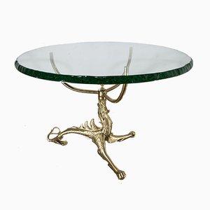Tavolo in vetro Saint-Gobain, anni '50