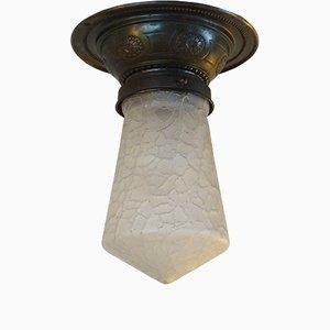 Antique Art Nouveau Ceiling Lamp
