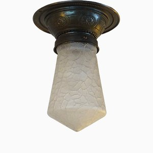 Lámpara de techo modernista antigua