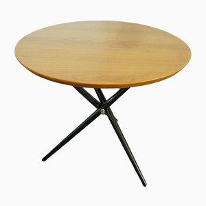 Tavolino tripode di Hans Bellmann per Knoll International, Svizzera, anni '50